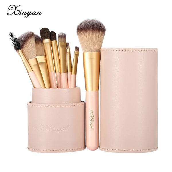 XINYAN Candy Makeup Brush Set Pink Blush