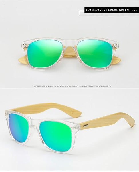 Polarized Wood Bamboo Sunglasses - All4utoday
