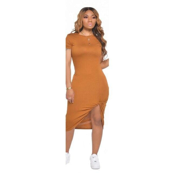 Women Summer Midi Dress - All4utoday