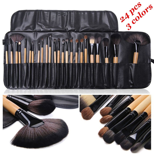Gift Bag Of 24 pcs Makeup Brush Sets