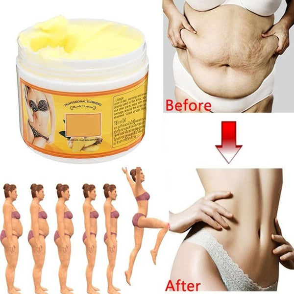 Ginger Fat Burning Cream Anti-cellulite Massaging Cream - All4utoday