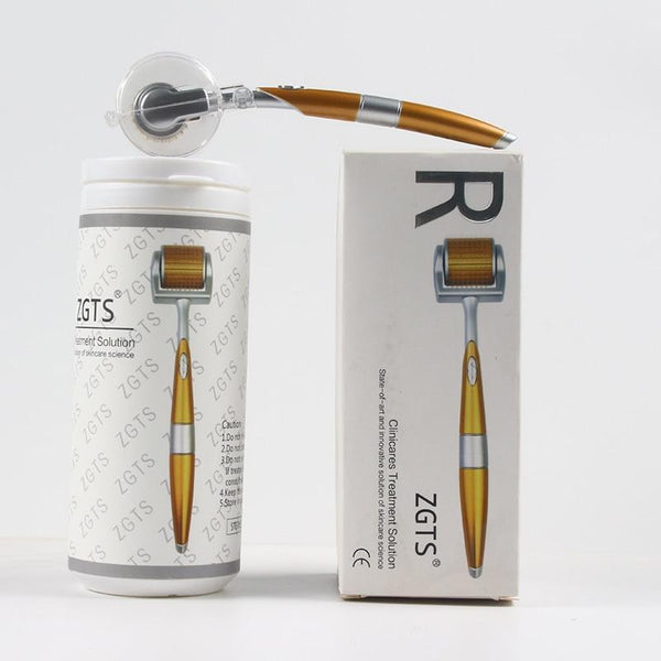 Derma Roller Titanium Gold - All4utoday