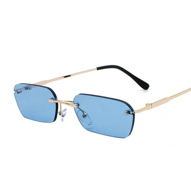 Rectangle Small Sunglasses - All4utoday
