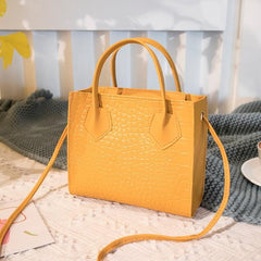Crocodile Pattern Crossbody Handbags