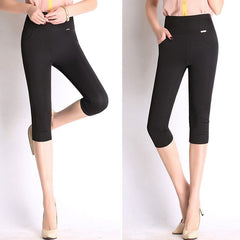 High Waist Pants Plus Size Available