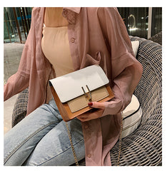 Mini Leather Shoulder Woman's Crossbody Bags