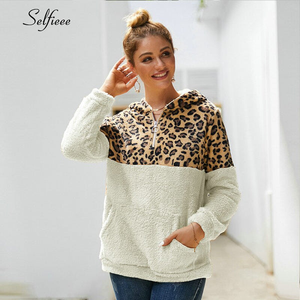 Winter Coat Women Hoodies Fleece