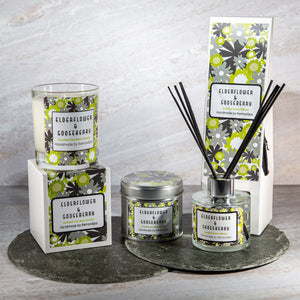 Elderflower & Gooseberry Home Fragrance Gift Set