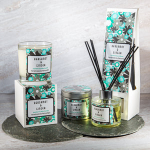Bergamot & Ginger Home Fragrance Gift Set
