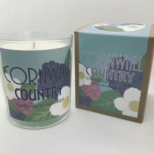 Country Scented Soy Wax Candle - Kernowspa