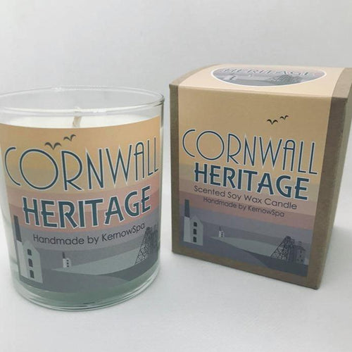 Heritage Large Scented Soy Wax Candle - Kernowspa