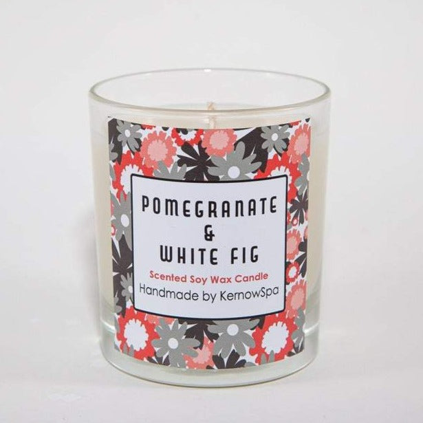 Pomegranate & White Fig Scented Soy Wax Candle (Unpackaged)