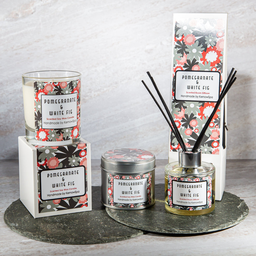 Pomegranate & White Fig Home Fragrance Gift Set