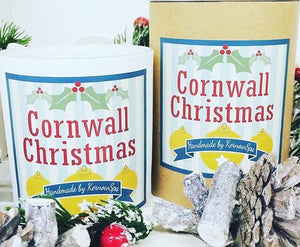 Cornwall Christmas Large Soy Wax Candle