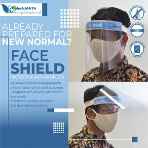 ADULT Face Shield (VISOR OPEN)