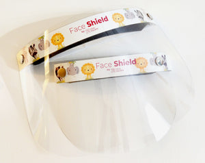 Face Shield with OPEN VISOR (KIDS) - 2 SIZES