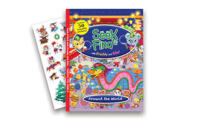 Seek & Find with Freddy and Ellie® - Around the World