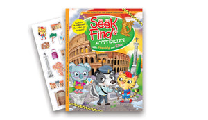 Seek & Find Mysteries® with Freddy and Ellie - The Secret of the Roman Colosseum