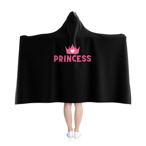 Princess Hooded Blanket - Flirty Girl Tees