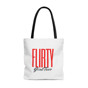 Flirty Girl-Flirty Tote Bag - Flirty Girl Tees