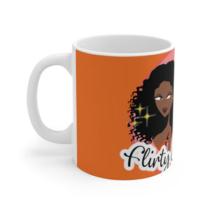 Flirty Girl Tees Ceramic Mug - Flirty Girl Tees