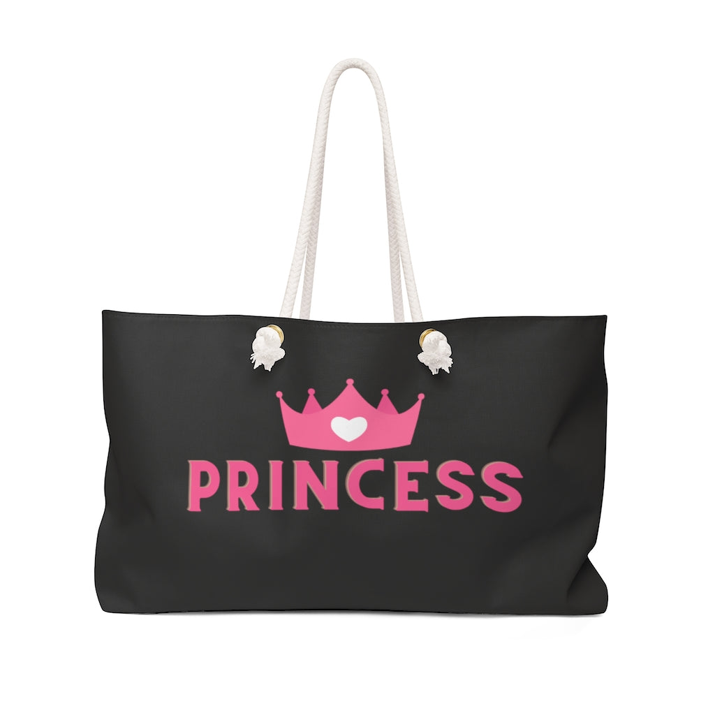 Princess Weekender Bag - Flirty Girl Tees