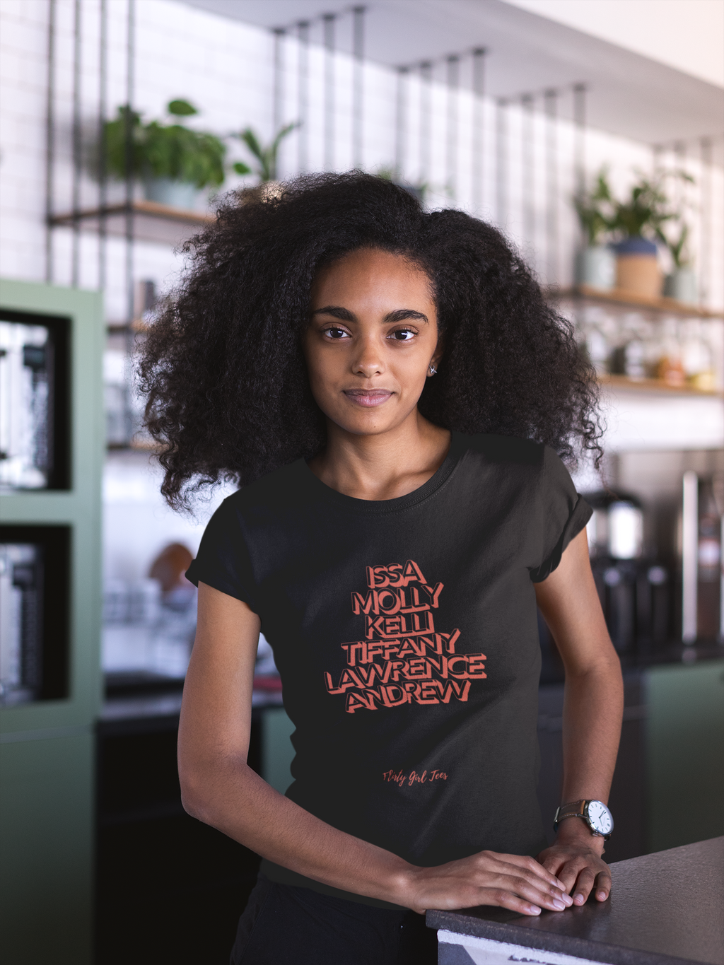 """Insecure"" Characters T-Shirt - Flirty Girl Tees"