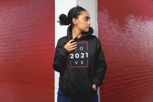 Love 2021 Hoodie - Flirty Girl Tees