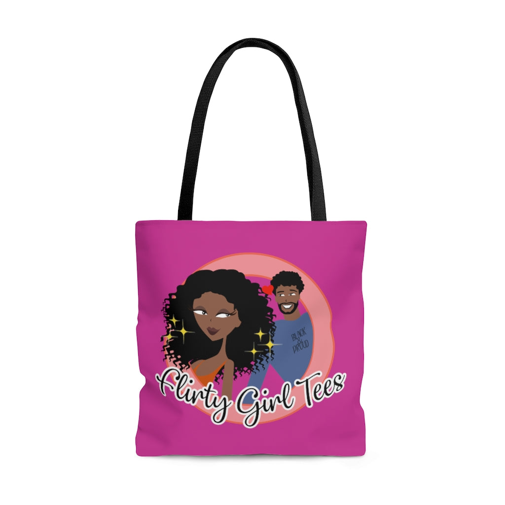Flirty Girl Signature Tote Bag - Flirty Girl Tees