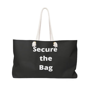 Secure the Bag Weekender - Flirty Girl Tees