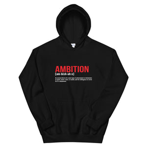 Ambition Definition Hoodie - Flirty Girl Tees
