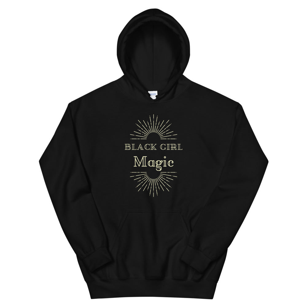 Black Girl Magic Hoodie - Flirty Girl Tees