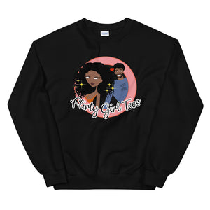 Flirty Girl Signature Sweatshirt - Flirty Girl Tees