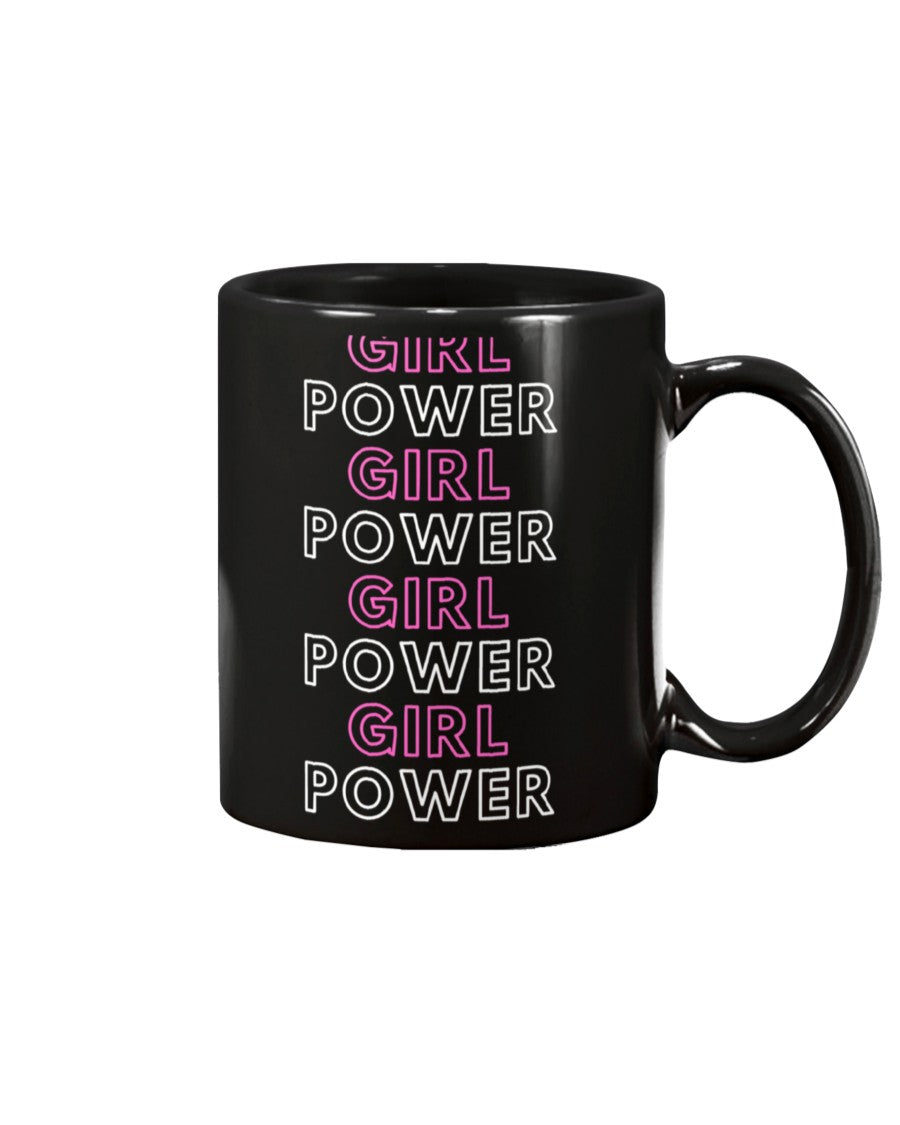 Girl Power Ceramic Mug - Flirty Girl Tees