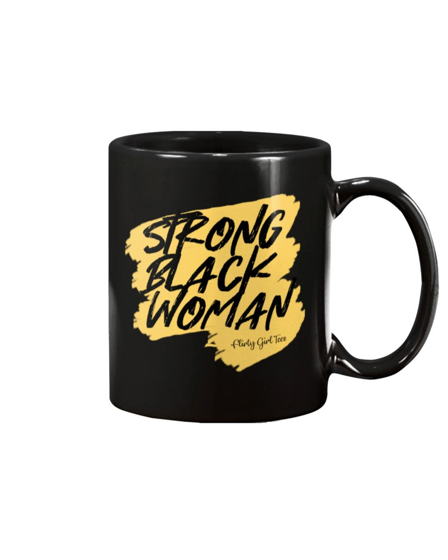 Strong Black Woman-Ceramic Mug - Flirty Girl Tees