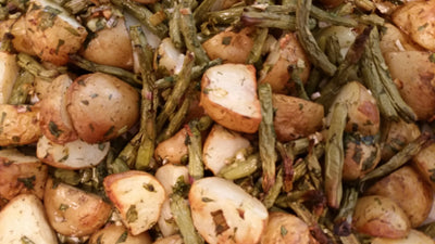 GREEN BEANS POTATOES MXIED