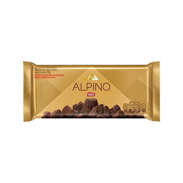 Alpino Chocolate Bar 3.17oz - Chocolate Alpino 90g