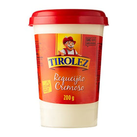 Original Tirolez Cheese Spread 7.05oz - Requeijão Tirolez Tradicional 200g