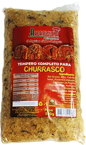 Complete Seasoning for BBQ 17.63oz - Tempero Completo para Churrasco 500g