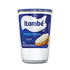 Original Itambe Cheese Spread 7.76oz - Requeijão Itambe Tradicional 220g