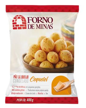 Cocktail Cheese Bread 14.10oz - Pão de Queijo Coquetel 400g