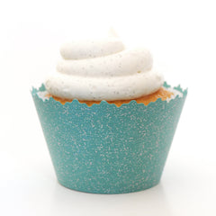 Glitter Cupcake Wrappers