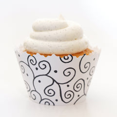 Special Wedding Cupcake Wrappers