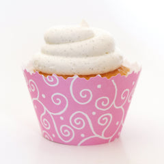 Swirls Cupcake Wrappers