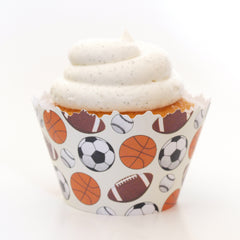 Sports Cupcake Wrappers