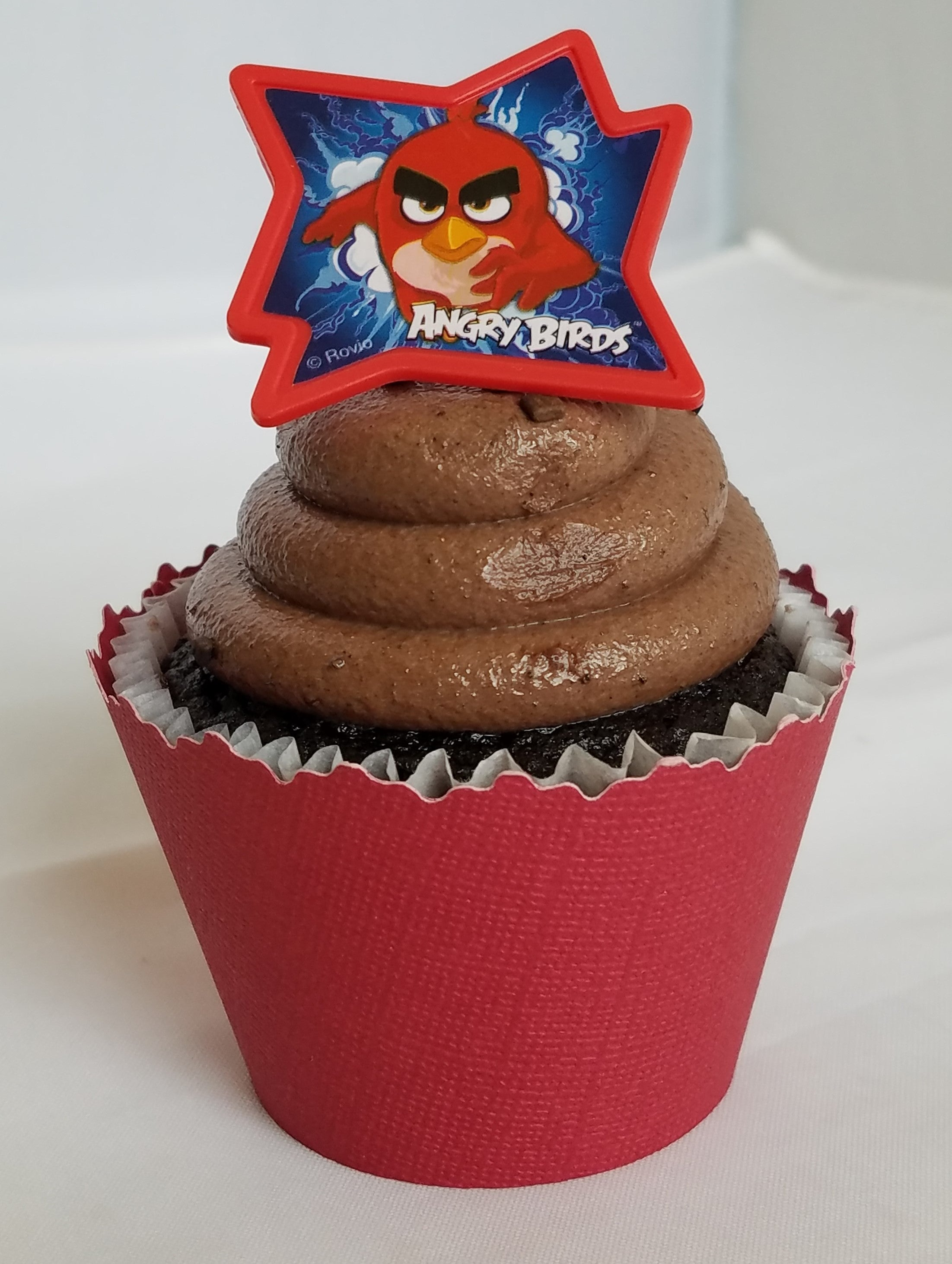 Set of 12 Angry Birds Movie Themed Cupcake Toppers