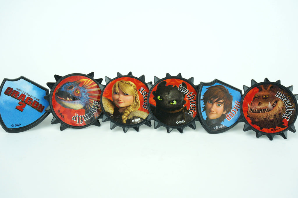 Simply Wrappers - How to train your Dragon 2 cupcake toppers - Set of 12