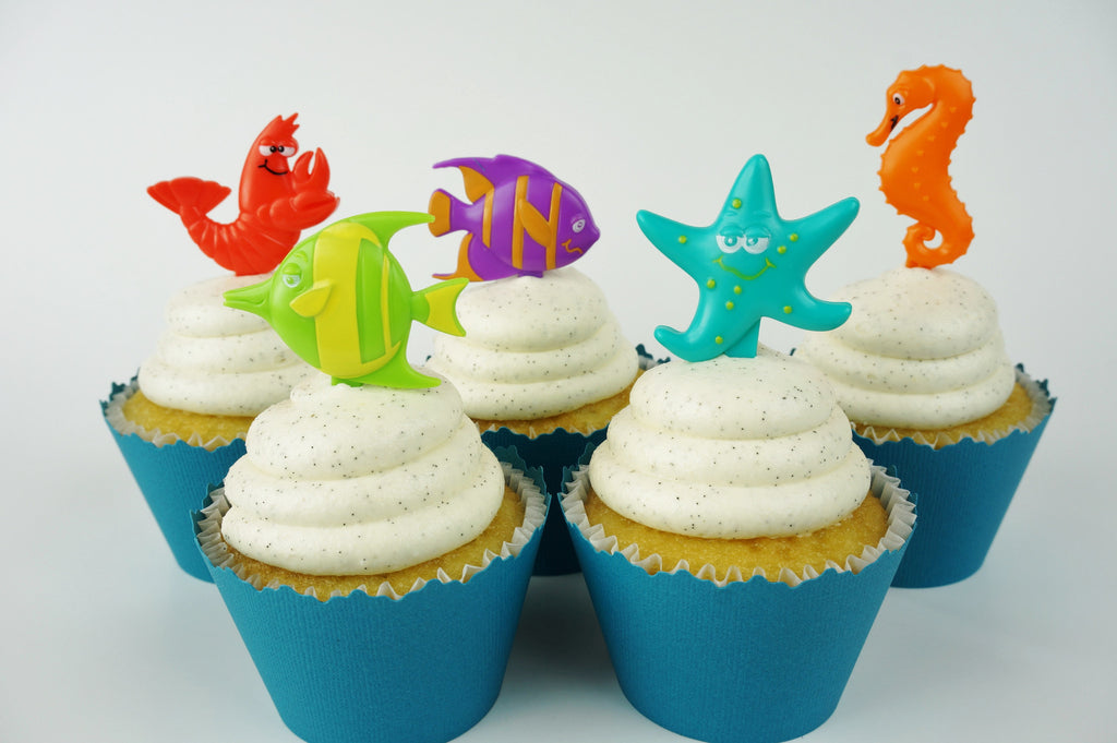 Under the Sea toppers - set of 12