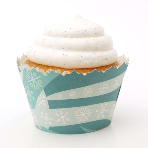 Underwater Adventure Cupcake Wrapper, Adjustable - Set of 12