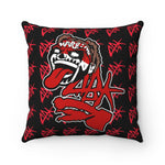Load image into Gallery viewer, ABK CartoFace Spun Polyester Square Pillow